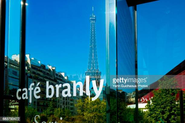 THE EIFFEL TOWER FROM BRANLY MUSEUM, PARIS, FRANCE