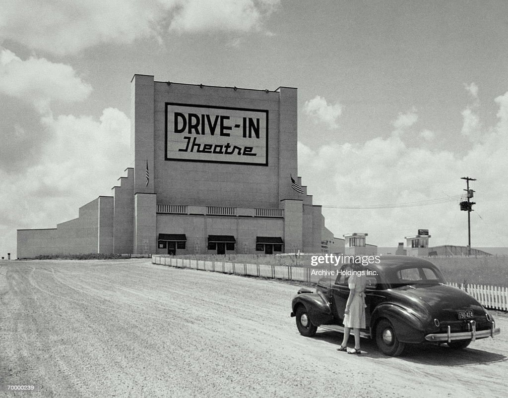 DRIVE IN : Stock Photo