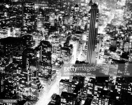 CITY LIGHTS : Foto de stock