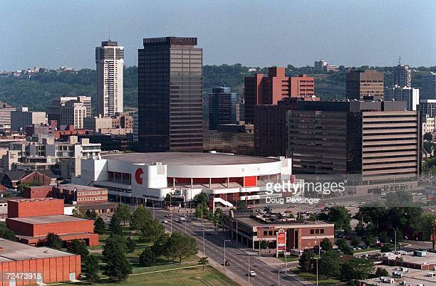 THE COPPS COLISEUM NESTLED IN THE HEART OF DOWNTOWN HAMIILTON ONTARIO CANADA IS THE SITE OF PRELIMINARY MATCHUPS IN THE WORLD CHAMPIONSHIPS OF...
