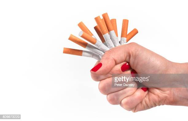 DETERMINATION TO GIVE UP SMOKING AND LEAD HEALTHY LIFESTYLE