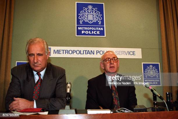 NICKELL THE FATHER OF WIMBLEDON COMMON MURDER VICTIM RACHEL NICKELL AT A LONDON NEWS CONFERENCE AFTER THE INQUEST INTO HIS DAUGHTER'S DEATH WITH MR...