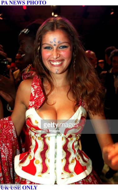 CASTA 'PRETAPORTER SPRING SUMMER 1998' AFRICAN MOSAIQUE SHOW TO SUPPORT THE ETHIOPIAN CHILDREN'S FUND IN PARIS FRANCE