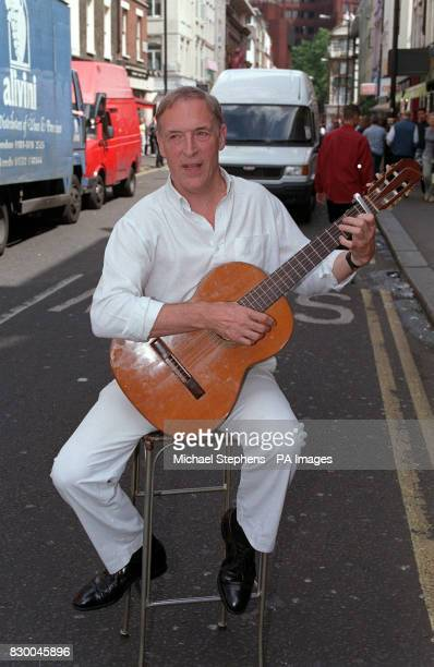 PLAYED 'PAPA' IN THE RENAULT CLIO TELEVISION ADVERTISEMENTS AT THE COSTA COFFEE SHOP IN LONDON'S WEST END WHERE HE IS PERFORMING POEMS IN FRENCH AND...