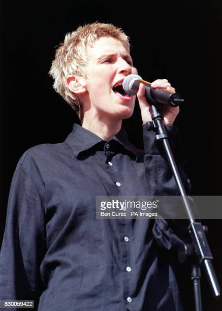 BAND 'CHUMBAWAMBA' ON STAGE AT THE V98 VIRGIN ROCK FESTIVAL IN CHELMSFORD
