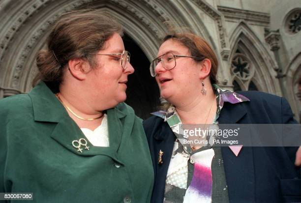AND LISA GRANT FROM EASTLEIGH NEAR SOUTHAMPTON WHO CLAIMS HER PARTNER JILL PERCEY SHOULD ENTITLED TO THE SAME TRAVEL BENEFITS THAT ARE GIVEN TO THE...