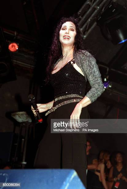S HEAVEN NIGHTCLUB TO LAUNCH HER FIRST ALBUM FOR NEARLY THREE YEARS THE 52 YEAROLD SINGER AND FILM STAR WAS JOINED BY OTHER STARS AT THE NIGHTCLUB...