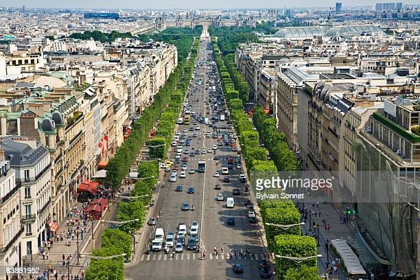 CHAMPS-ELYSEES AVENUE, PARIS, FRANCE