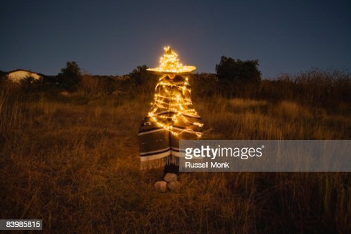 MEXICAN XMAS TREE : Stock Photo