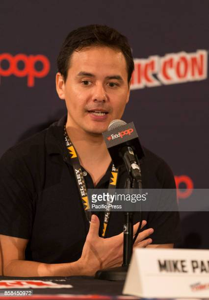 Mike Parker attends Panel Explosion Jones during 2017 New York Comic Con Day 1