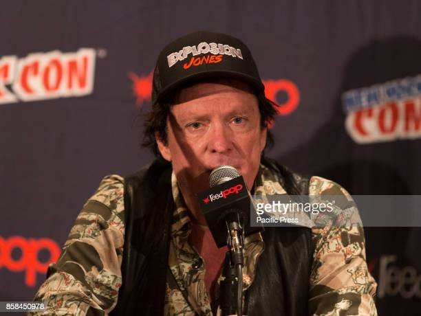 Micahel Madsen attends Panel Explosion Jones during 2017 New York Comic Con Day 1