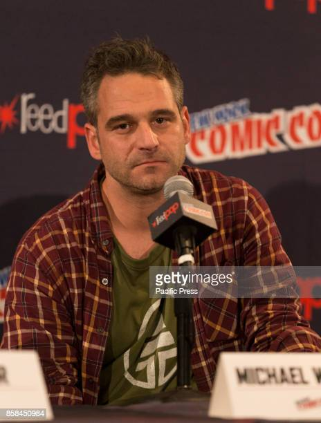 Michael William attends Panel Explosion Jones during 2017 New York Comic Con Day 1
