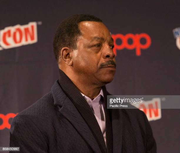 Carl Weathers attends Panel Explosion Jones during 2017 New York Comic Con Day 1