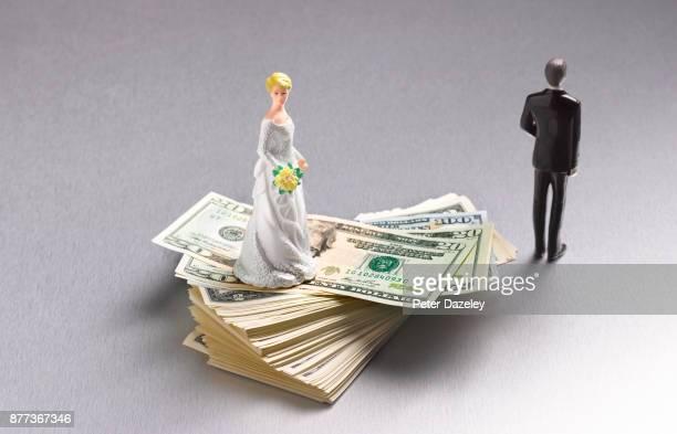 DIVORCED COUPLE ON DOLLARS