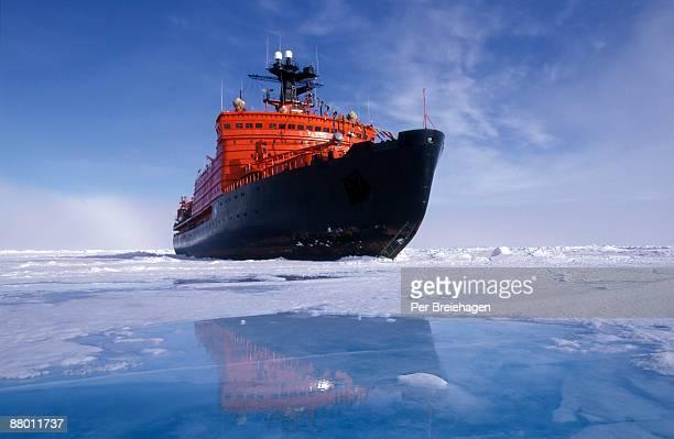 ICEBREAKER AT THE NORTH POLE