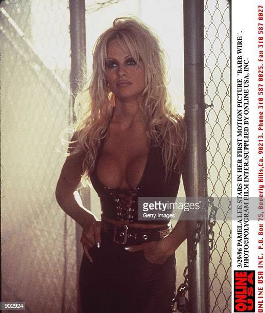 3/29/96 PAMELA LEE STARS IN THE MOTION PICTURES 'BARB WIRE'