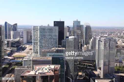 LA DEFENSE / PARIS : Stock Photo