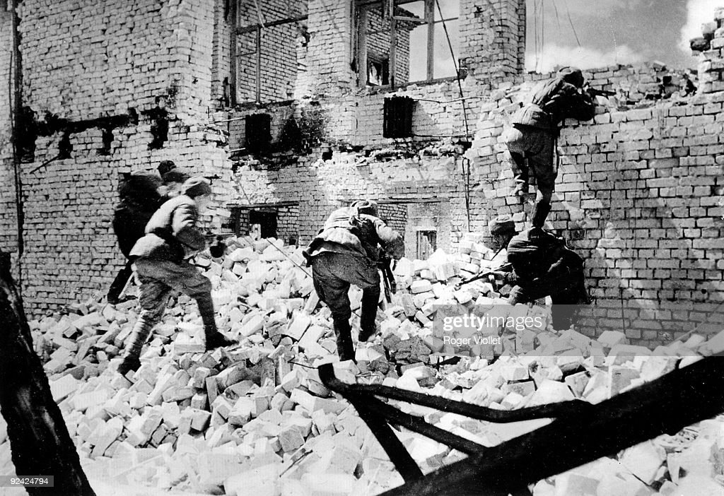 World War II Russian soldiers at the battle of Stalingrad September 1942 February 1943