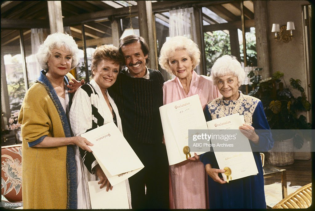 THE GOLDEN GIRLS - 9/24/85 - 9/24/92, BEA ARTHUR, RUE MCCLANAHAN, SONNY BONO, BETTY WHITE, ESTELLE GETTY,