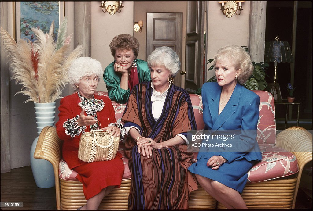 THE GOLDEN GIRLS - 9/14/85 - 9/14/92, ESTELLE GETTY, RUE MCCLANAHAN, BEA ARTHUR, BETTY WHITE,