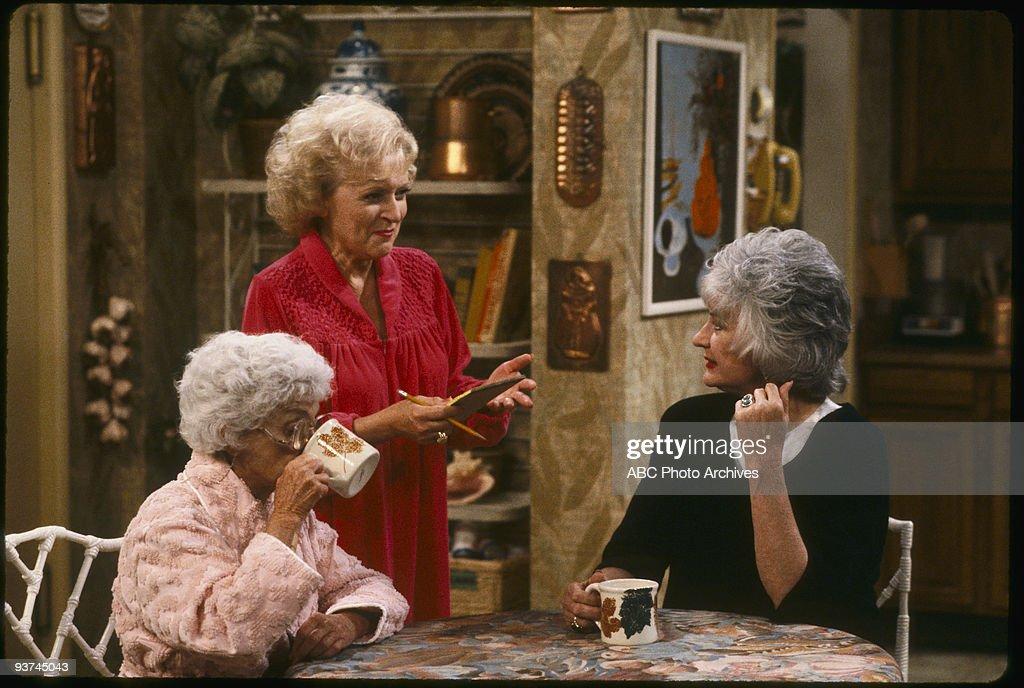 THE GOLDEN GIRLS - 9/24/85 - 9/24/92, ESTELLE GETTY, BETTY WHITE, BEA ARTHUR,