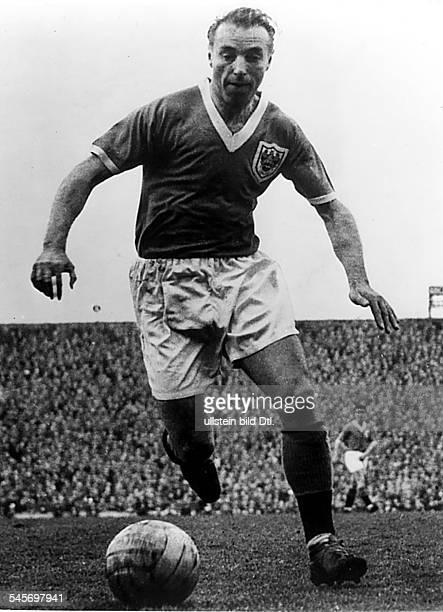 *Sportler Fussball Grossbritannien Spielstudie1963