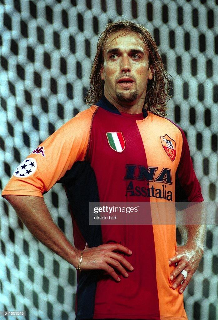 Sportler, Fussball, ArgentinienStürmer (AS Rom)Porträt