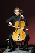 MALIBU CA German cellist Johannes Moser plays JS Bach's Suite No 1 in G Major for unaccompanied Cello during a Sunday afternoon performance at...