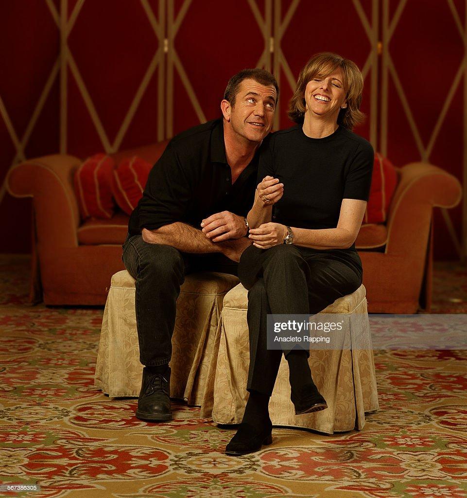 Nancy Meyers 019594ca1117mel2ar Actor Mel Gibson And Director Nancy Meyers