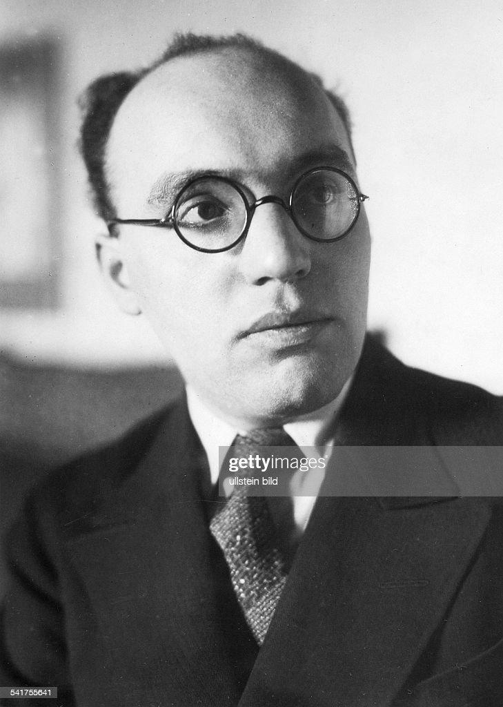 Musiker, Komponist, DPorträt- um 1930