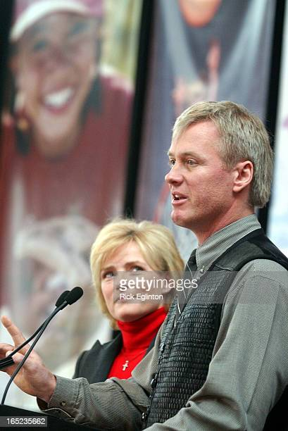 02/08/05reo1Jump Figure skating champions Barbara Underhill and Paul Martini address a presser announcing Jump Start a youth program aimed at lower...