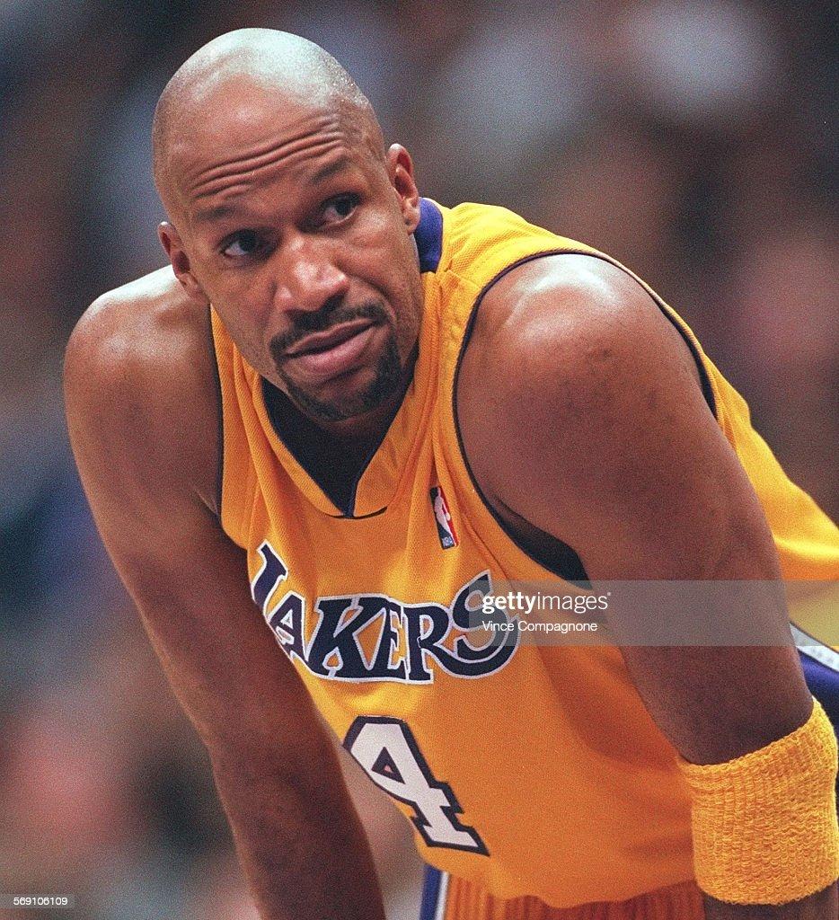 SP 0207 Lakers10 VC Laker veteran guard Ron Harper during
