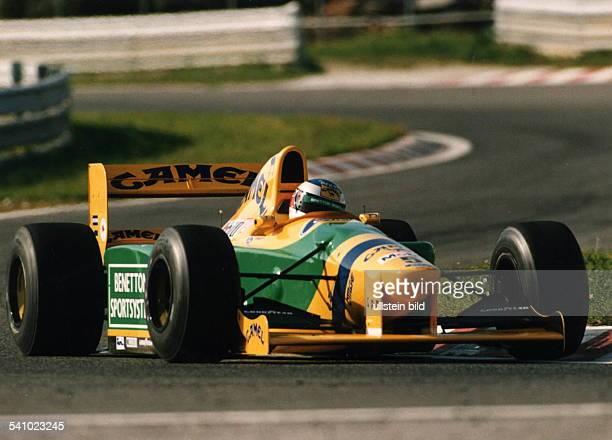 Rennfahrer / Auto Dauf Benetton Fordin Estoril 1993