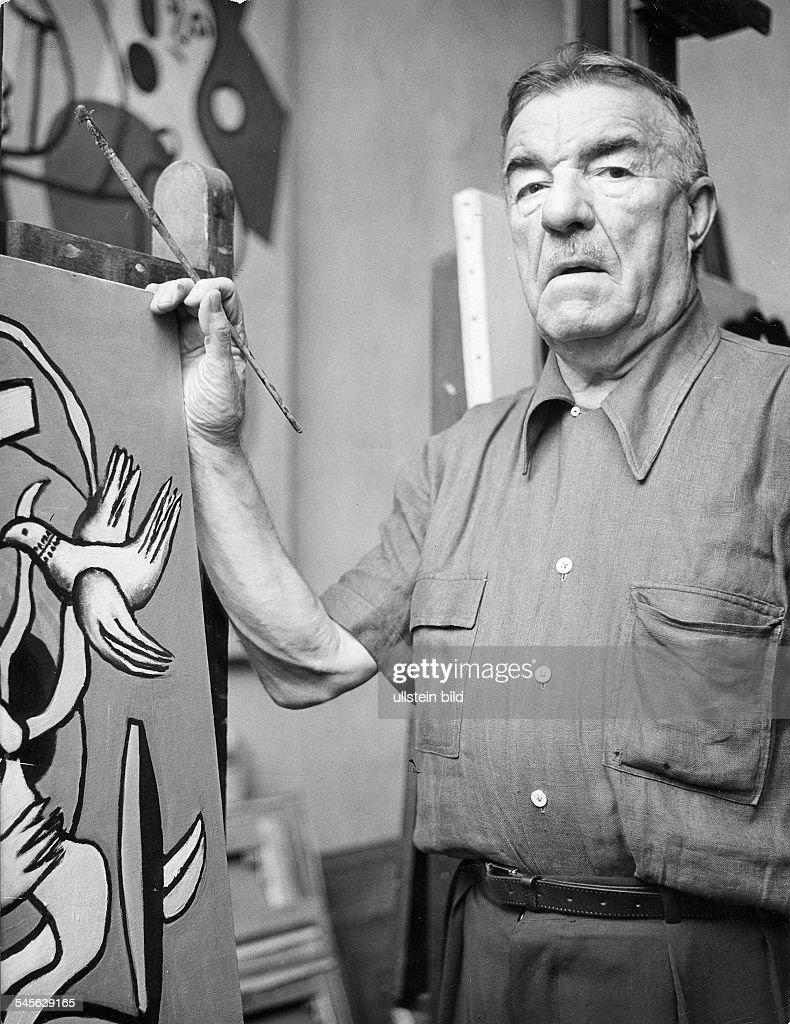 Bildender Künstler, Maler, FrankreichPorträt in seinem Atelier in Paris