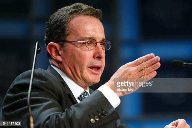 Jurist KolumbienStaatspräsidentPorträt
