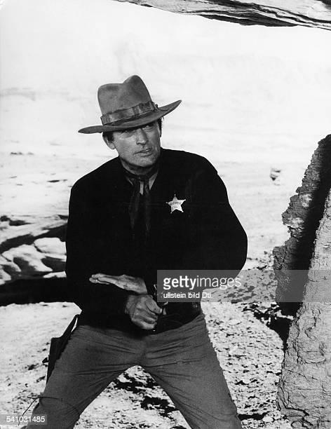 *Schauspieler USAin dem Film `Mackenna's Gold'Regie JLee Thompson USA 1967