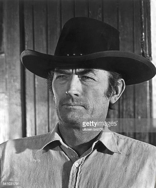 *Schauspieler USAin dem Film `Shoot out Abrechnung inGun Hill'Regie Henry Hathaway USA 1970