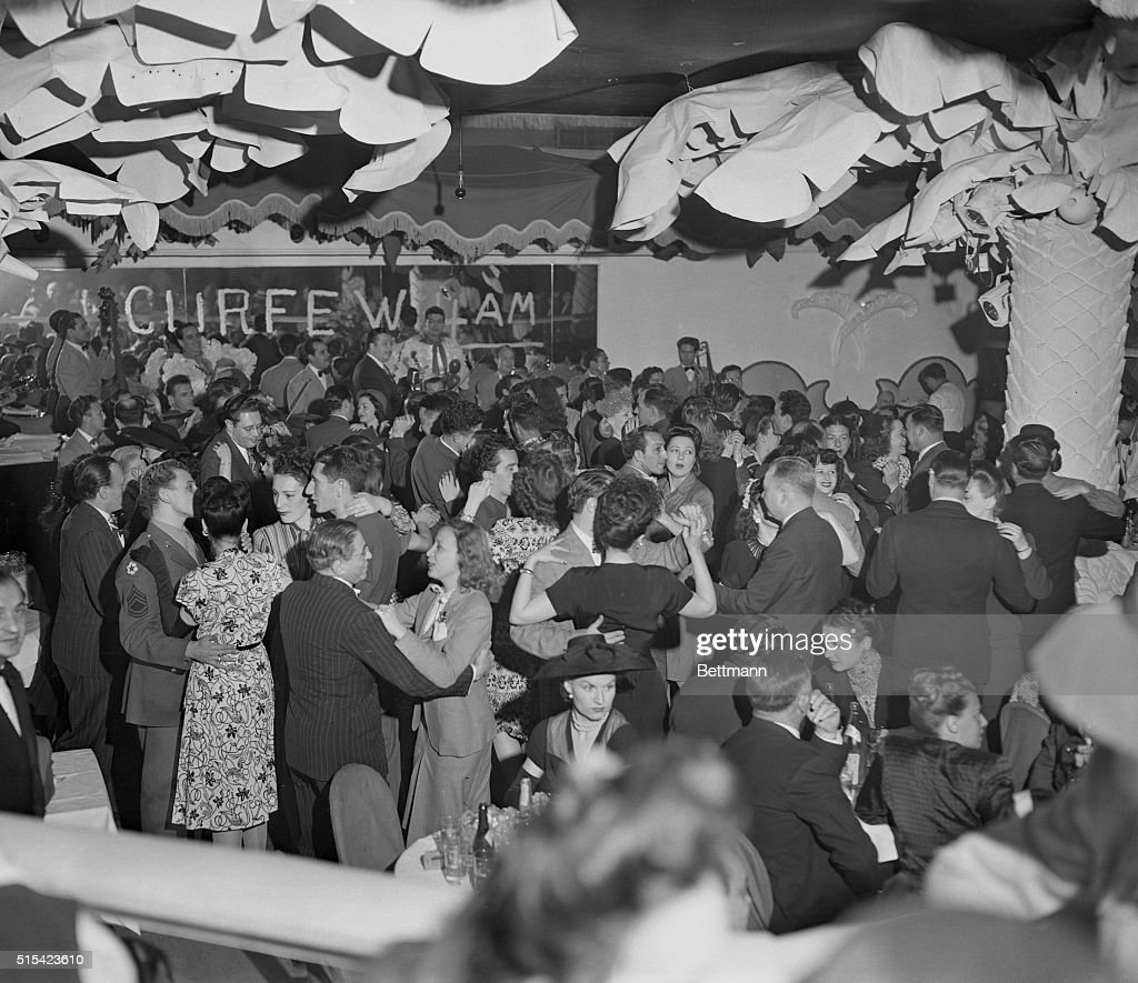 New YorkNY With the lifting of the curfew for the first time in more than two months patrons at the Copacabana dance long after the 'witching hour'...