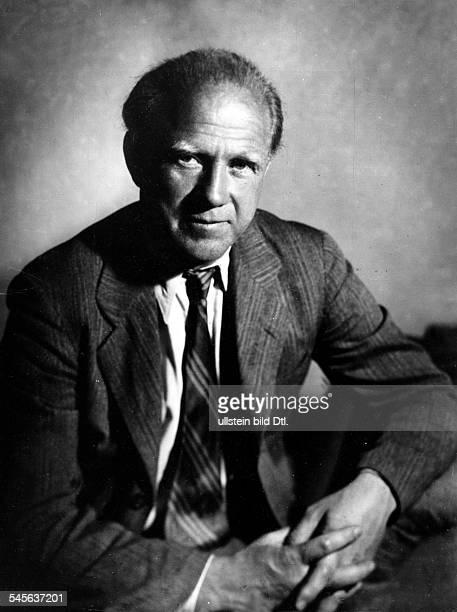 *Wissenschaftler Physiker Nobelpreisträger DPorträt 1955Foto Ernst Sandau