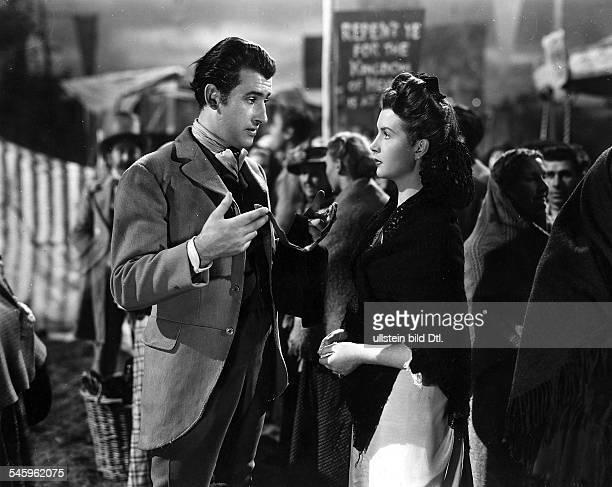 *Schauspieler Grossbritannienmit Kathleen Ryan in 'Captain Boycott' Regie Frank Launder Großbritannien 1947