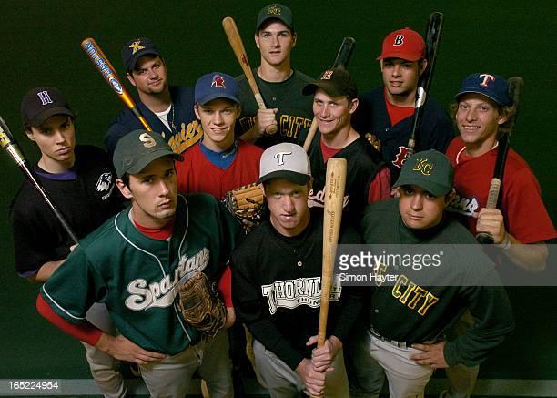 Toronto Star AllStar high school baseball team group shot