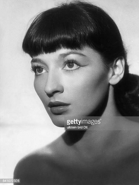*Sängerin Schauspielerin FrankreichPorträt 1955