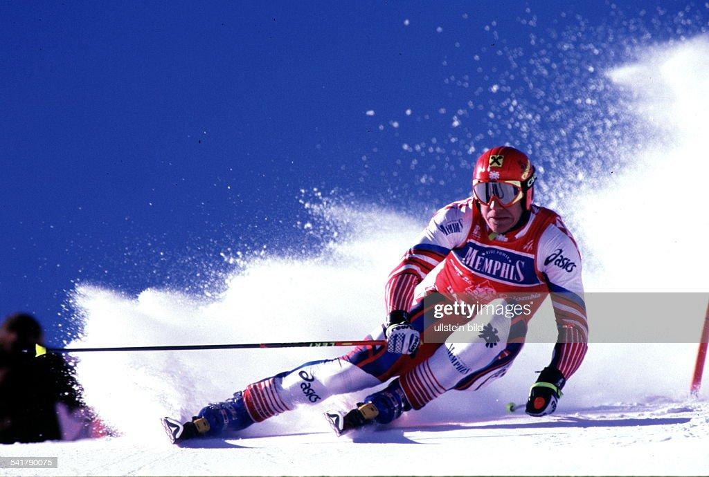 Sportler, Ski Alpin ÖsterreichSki Weltcup in Park City, Riesenslalom:- in Aktion