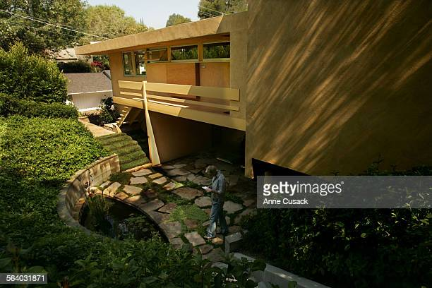 Sherman OaksExterior of home restored by LeFetra Michael LeFetra has restored a Schindler home in Sherman Oaks The project took 2 years In photo Seth...