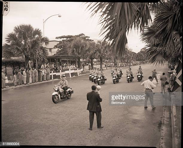 Dominican RepublicDominican soliders parade on George Washington Boulevard in the August 16th celebration in the Dominican Republic its their 88th...