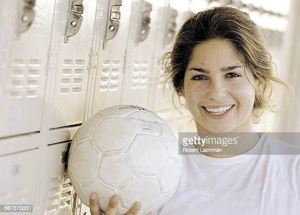SP1221orandrdl Soccer player Alexa Orand one of the best junior girls soccer player in nation but she doesn t play for her high school team is...