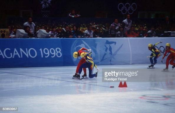 NAGANO 1998 1000m Frauen 210298 Yang YANG /CHN SILBER Lee KYUNG CHUN/PRK GOLD