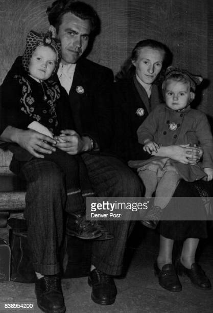 DEC 9 1951 DEC 10 1951 1000th DPEugeniuze Wais his wife or one of their two children who arrived in Denver Monday morning is the 1000the displaced...