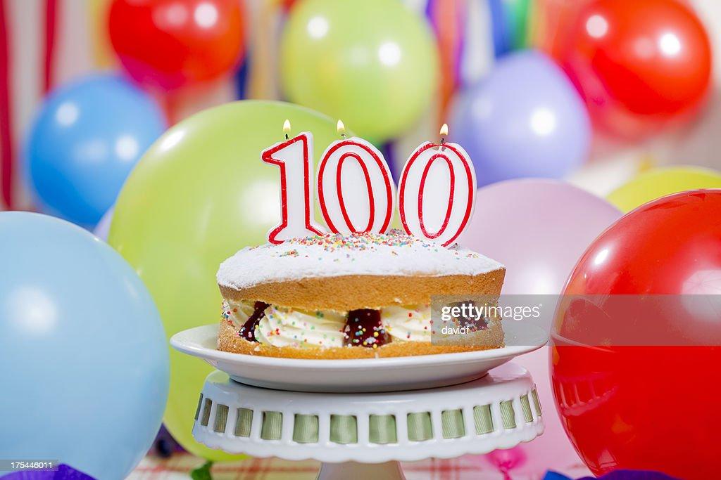 100th Birthday Cake Candles