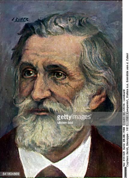 10101813Komponist Italienne Gemälde von J Zuber